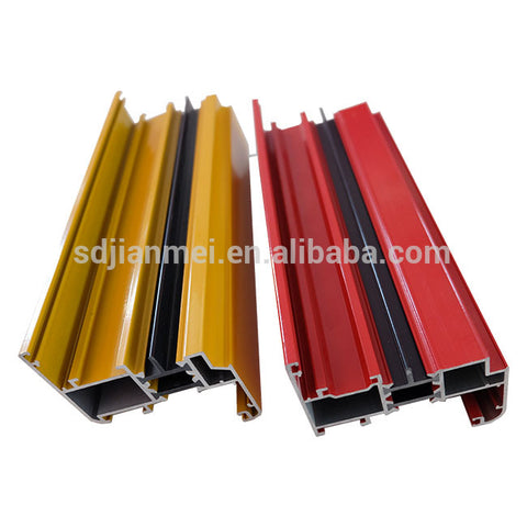 Thermal Break Aluminum Extrusion Profiles For Windows And Doors