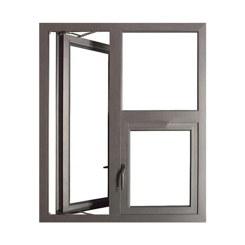 Thermal Break Aluminum French Casement Window on China WDMA