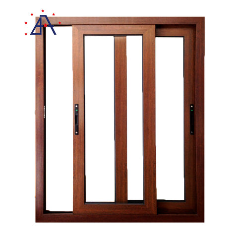 Thermal Break Australian Standard Double Glass Aluminium Window/Aluminium Glass Sliding Window on China WDMA