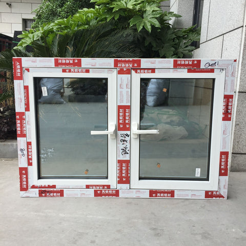 Thermal break aluminum windows, Australia standard double glazed window for PVC casement Windows on China WDMA