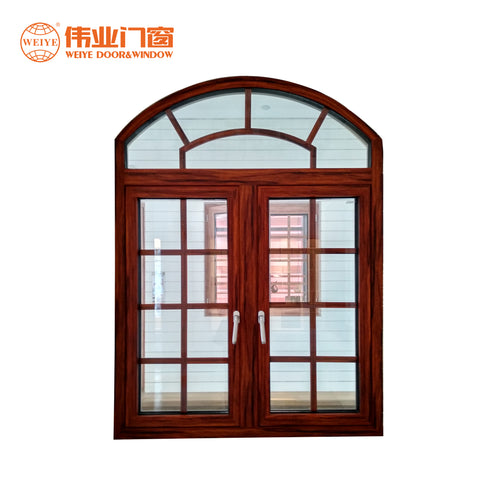 Thermal break double glazed aluminum casement window cheap casement windows on China WDMA