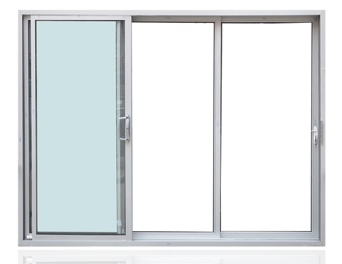 Thermal break double large glass aluminium sliding door , aluminium sliding door for meeting room on China WDMA