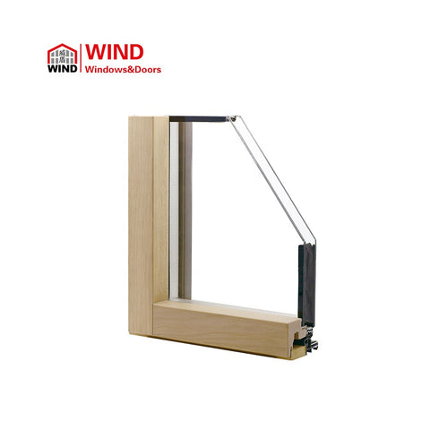Thermal with blind inside with venetian blinds awning double glazing windows cost with frame on China WDMA