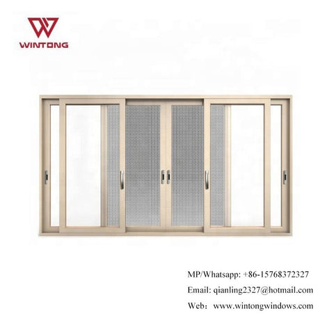 Three-track Aluminum Frame Sliding Door And Window in Doors Panel System For Canada on China WDMA