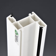 Tianjin ISO system best selling industrial pvc profile/upvc window profiles/upvc u profiles on China WDMA