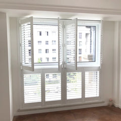 Tier on Tier Classic Interior Custom Made Plantation Shutter on China WDMA
