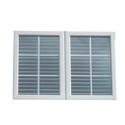 Top Window AS/NZ2208 Standard Luxury Jalousie Aluminium Louvre Blade Window Shutters aluminum roller shutter slat on China WDMA
