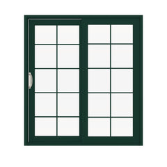 Top Window Australia Commercial System Aluminum Frame Slider Door With Stainless Steel Security Grill Cheap Sliding Door on China WDMA