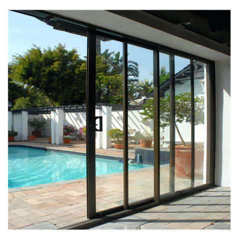 Top Window Fast Delivery Modern Contemporary Front Door Design As2047 Australian Aluminium Glass Patio Door for Thailand Vietnam on China WDMA