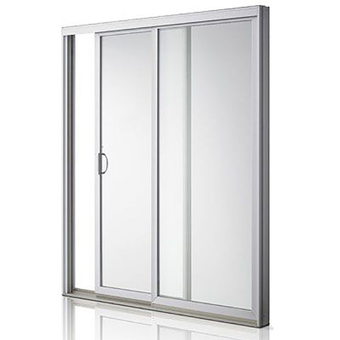 Top grade promotional double aluminium magnetic sliding door on China WDMA