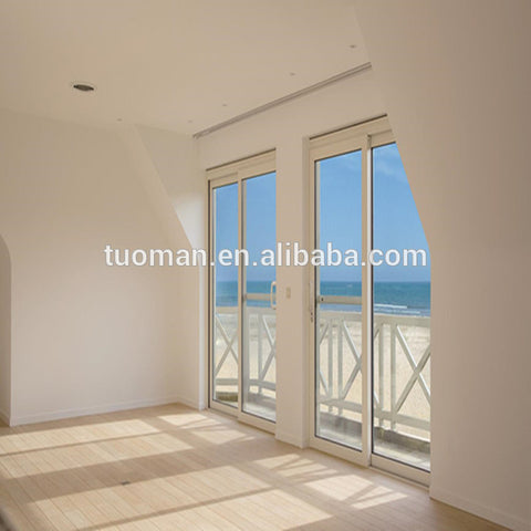 Top quality multi track aluminium sliding glass doors on China WDMA