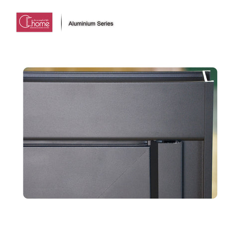 Top supplier Echome construction Australia standard aluminium alloy sliding and folding window on China WDMA