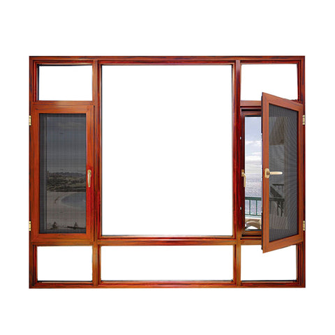 Top window Most Popular China Factory Price Upvc House Doors Windows 3 Panel Triple PVC aluminum Casement Window on China WDMA