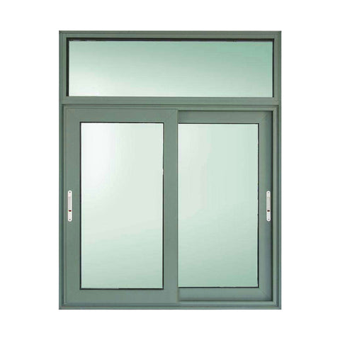 Top window factory aluminum triple 3 tracks channel interior sliding window on China WDMA