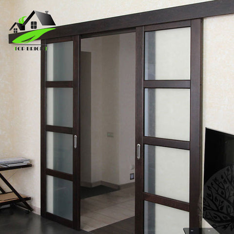 Topbright Heat Insulation Thermal Break Aluminum Sliding Interior Door Price on China WDMA