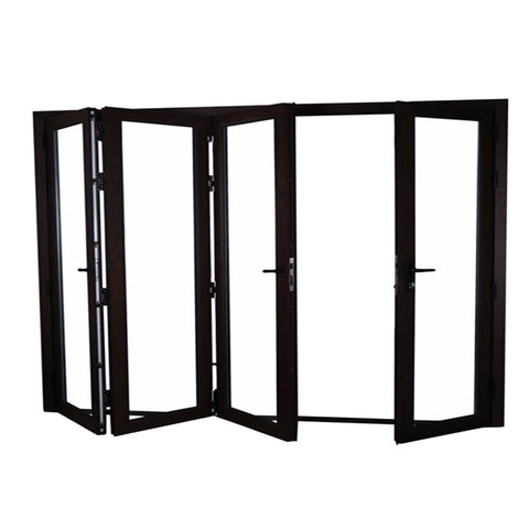 Topbright newest design high quality external modern front aluminium folding door on China WDMA