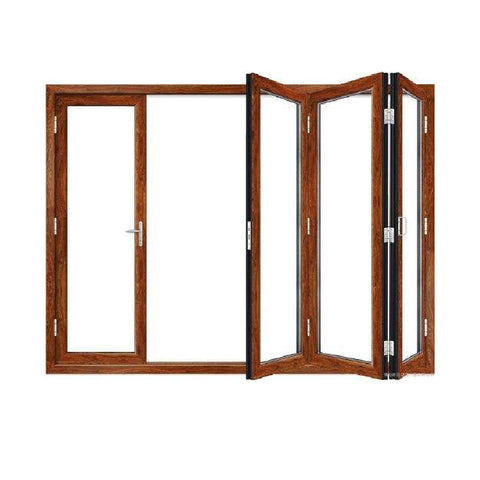 Topwindow Folding Glass Patio Door Puerta De Patio De Vidrio Plegable Bi Folding Glass Door on China WDMA