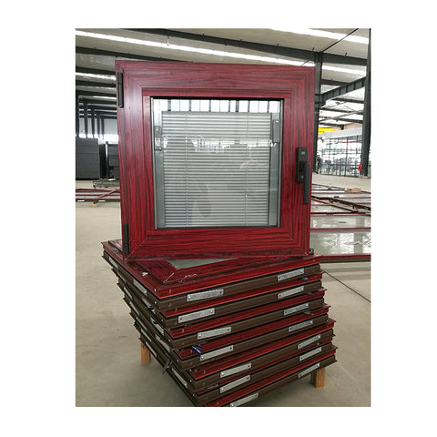 Toronto hot sale durable aluminum windows with built-in window shutter design on China WDMA