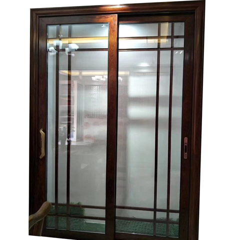 Toughened glass modern house design sliding door glass on China WDMA