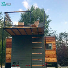 Travelman Mobile Live Trailer Tiny Homes in New Zeadand on China WDMA