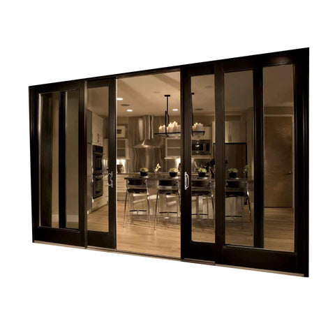 Triple Glass Aluminum Lift Sliding Door Thermal Break Double Safety Glazing Doors on China WDMA on China WDMA