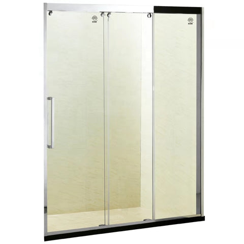 Triple Glass Partition Caravan Plastic 3 Doors Used 3 Panel Sliding Shower Door on China WDMA