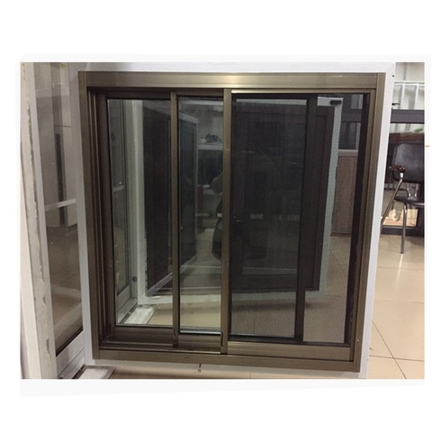 Triple tracks cheap price top quality double glazed sliding window screen on China WDMA