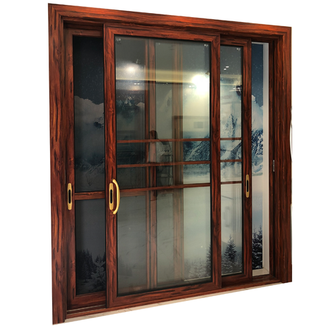 Triple tracks double glazed 3 panel sliding patio door price on China WDMA