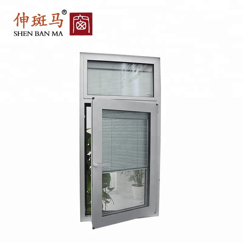 UPVC Casement Cheap House Anti Mosquito Net Screen Aluminium Windows with Mosquito Net on China WDMA