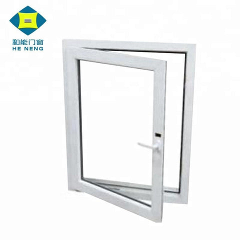 UPVC Garden Plastic Window Frame Lowes For Sales on China WDMA