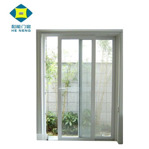 UPVC Industrial Decorative Balcony Kitchen Sliding Glass Doors on China WDMA
