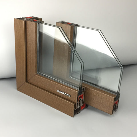 UPVC Profile Sliding Windows Cheap UPVC Windows on China WDMA