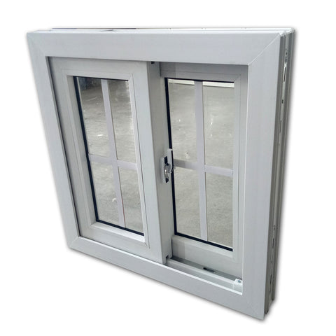 UPVC White Windows Cheap House Anti Mosquito Net Screen Window Double Glass Turkey PVC Doors And Windows