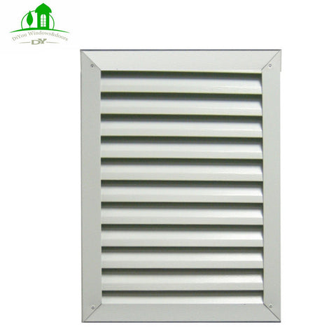 UPVC and aluminum profile adjustable fixed louver window for house on China WDMA