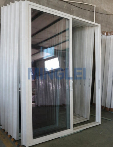 UPVC double pane sliding glass patio doors on China WDMA