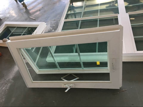 UPVC home windows designs , PVC sliding window with mosquito nets cost-effective pvc french window design on China WDMA