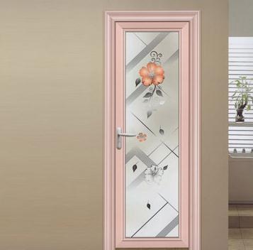 UPVC low price casement bathroom door waterproof security door glass french casement door on China WDMA