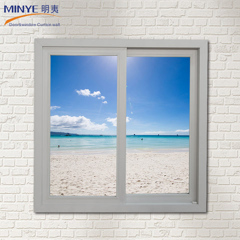 UPVC sliding windows with blinds between glass on China WDMA