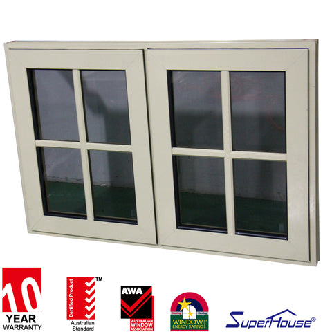 UPVC tech french doors/casemnt door/hinged door steel window grill design on China WDMA
