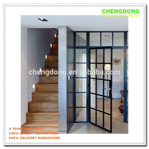USA standard & Australia hot sale Folding Open Style bifold door commercial aluminium accordion door folding patio doors prices on China WDMA