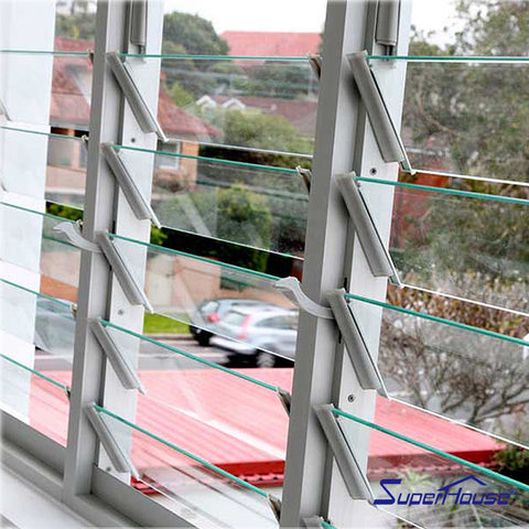 USA standard impact resistance waterproof glass jalousie louver window for modular container house on China WDMA