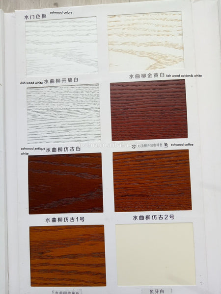 100% exterior Mahogany Tiffany frosted triple pane glass Wood Door Exterior Front Entry Double House double main wooden door on China WDMA
