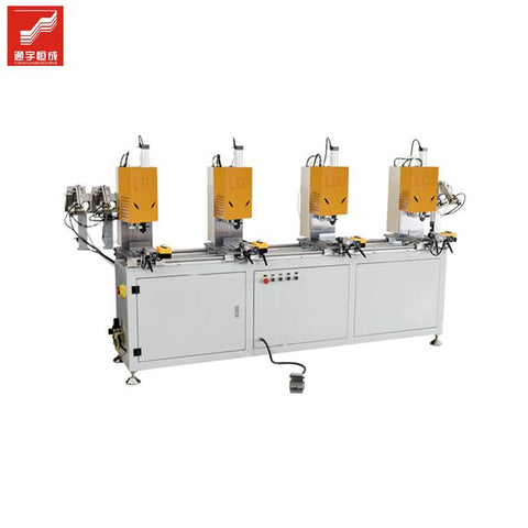 Unique design white Upvc Window Machine on China WDMA