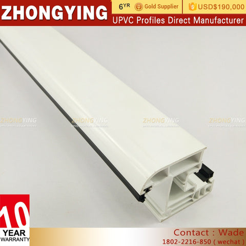 Upvc Plastic Exterior White Door Casement Bay Extrusion Profile Tooling Black Rigid Pepe No Smell Sleeve Pvc Window Sill on China WDMA