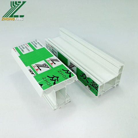 Upvc Quality Plastic Door Laminated Profile 70mm Window And Cpvc Gutter Custom Profil Frame Double Hung Low Price Pvc Extrusion on China WDMA