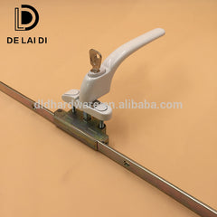 Upvc cranked espag window handle with lock on China WDMA