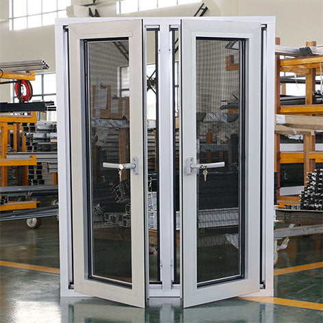 Upvc window thailand double glazing swing vinyl hurricane impact pvc casement windows factory price on China WDMA