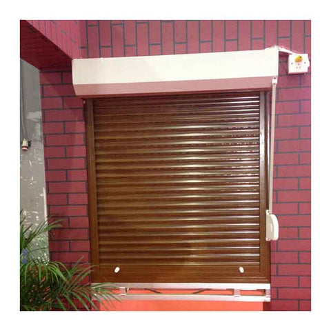 Used for bungalow automatic aluminum operation roller shutters windows on China WDMA