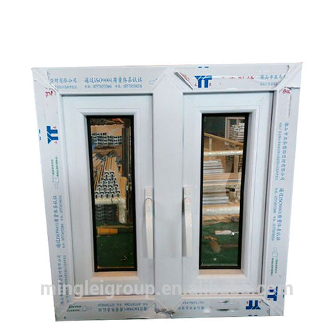 Veka upvc black and white upvc casement windows German on China WDMA