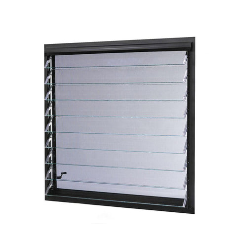 Ventanas Jalousie Style Windows Frosted Glass Window Bathroom Louver Window on China WDMA